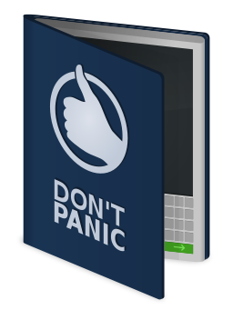 Hitchhiker's Guide to Galaxy book